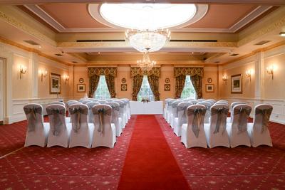 interior at Park Hall Hotel Shifnal